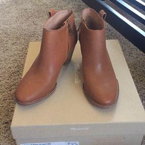 Madewell Billie Boot English Saddle  size 6 1/2